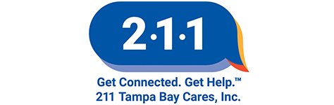 211 Tampa Bay Cares Logo