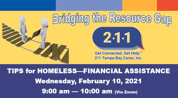 homeless financial assistance webinar